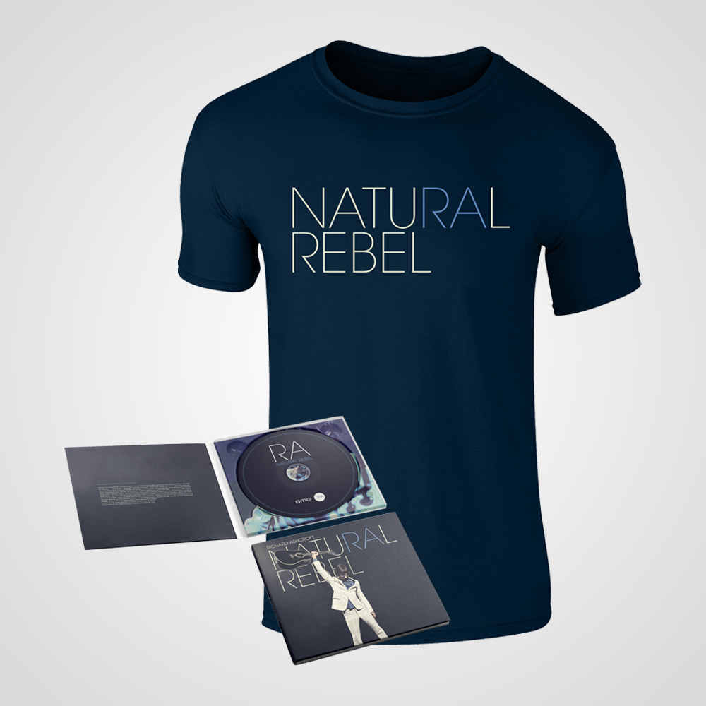 Buy Online Richard Ashcroft - Natural Rebel CD + T-Shirt