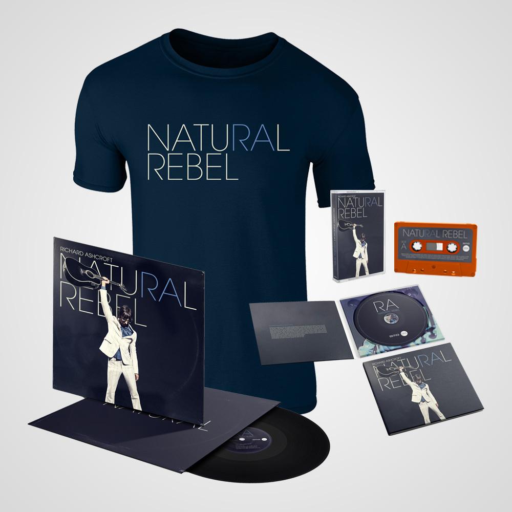 Buy Online Richard Ashcroft - Natural Rebel Deluxe Bundle