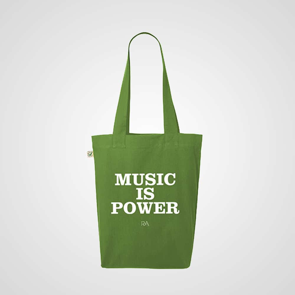 Buy Online Richard Ashcroft - Music Is Power Tote Bag