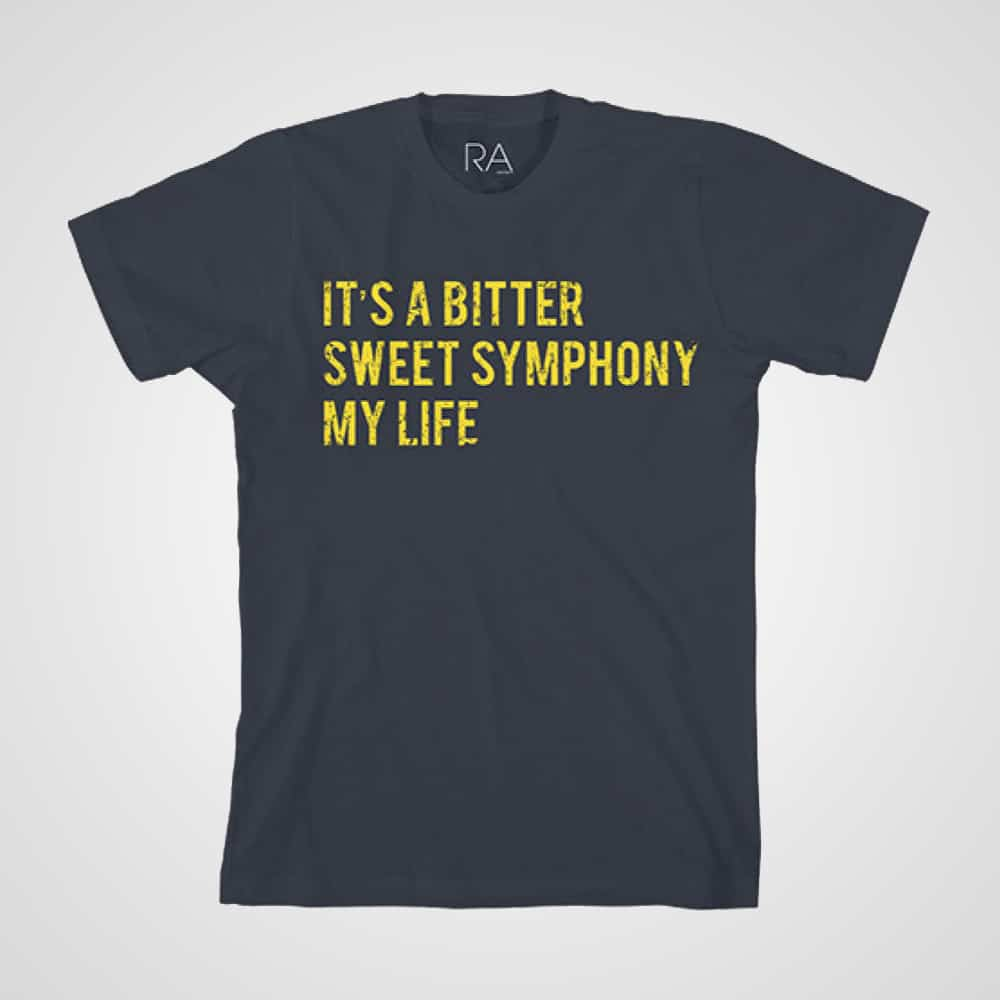 Buy Online Richard Ashcroft - Bittersweet Navy T-Shirt