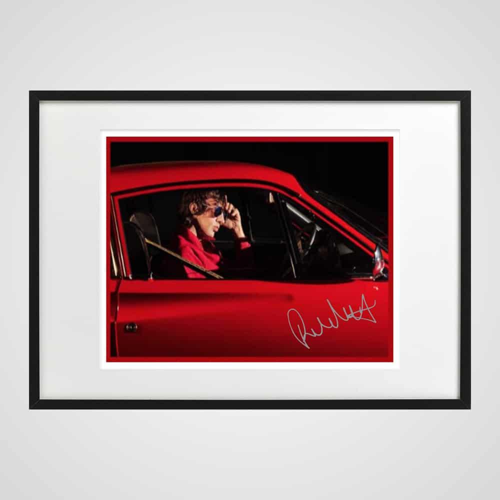 Buy Online Richard Ashcroft - Framed Colour Print (Signed)