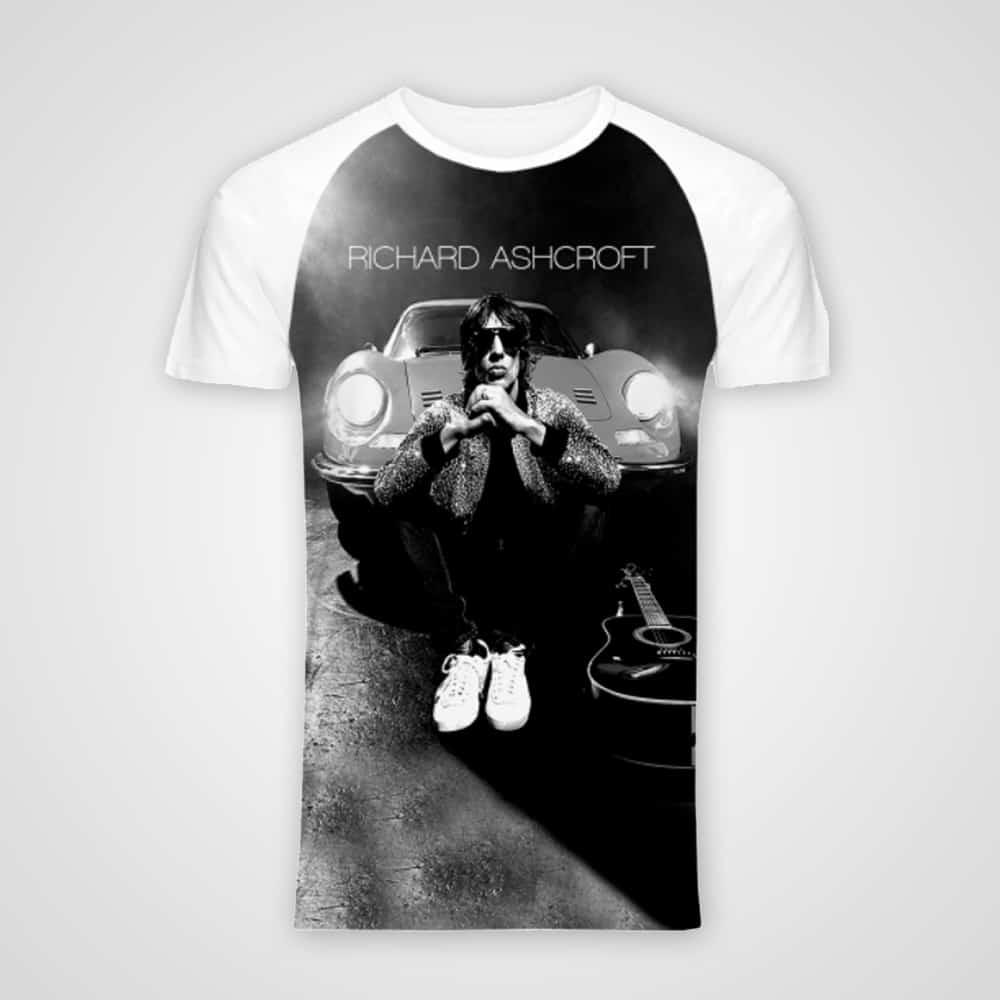 Buy Online Richard Ashcroft - Car T-Shirt