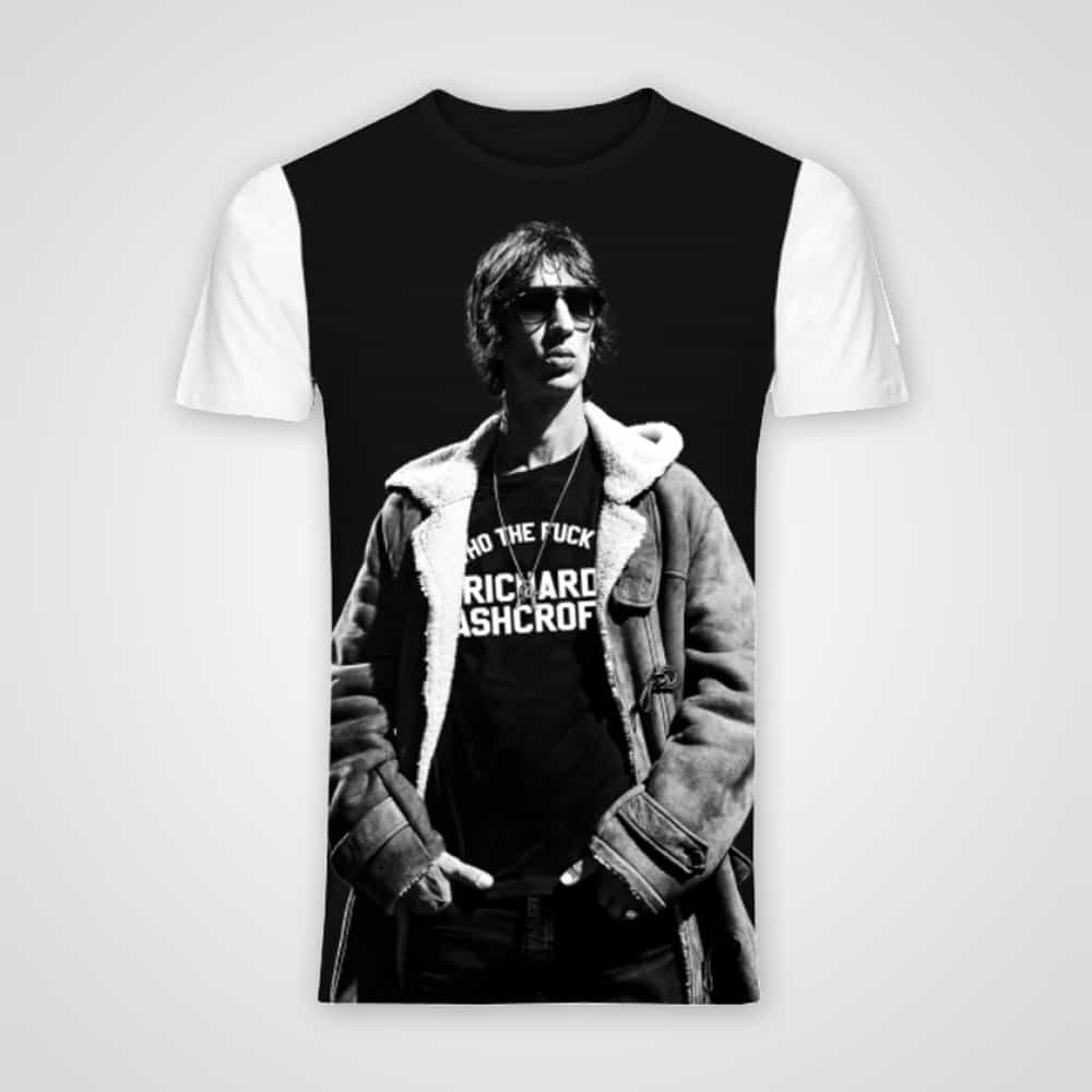 Buy Online Richard Ashcroft - Who The F*** Is Richard Ashcroft T-Shirt