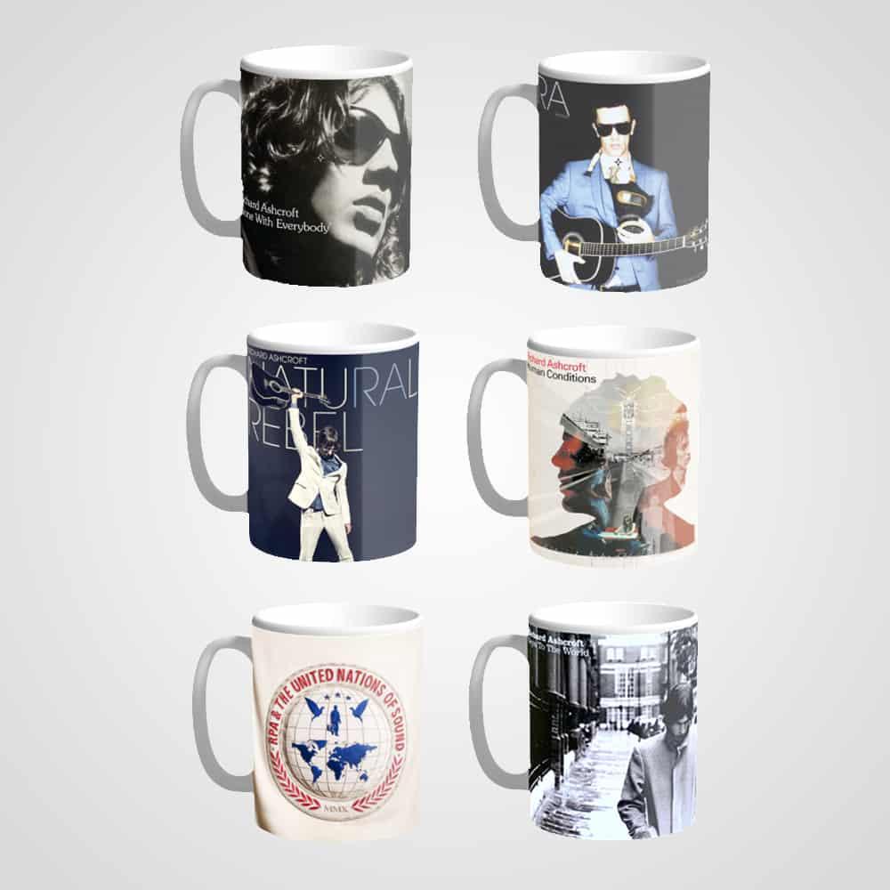 Buy Online Richard Ashcroft - 6 x Mug Bundle