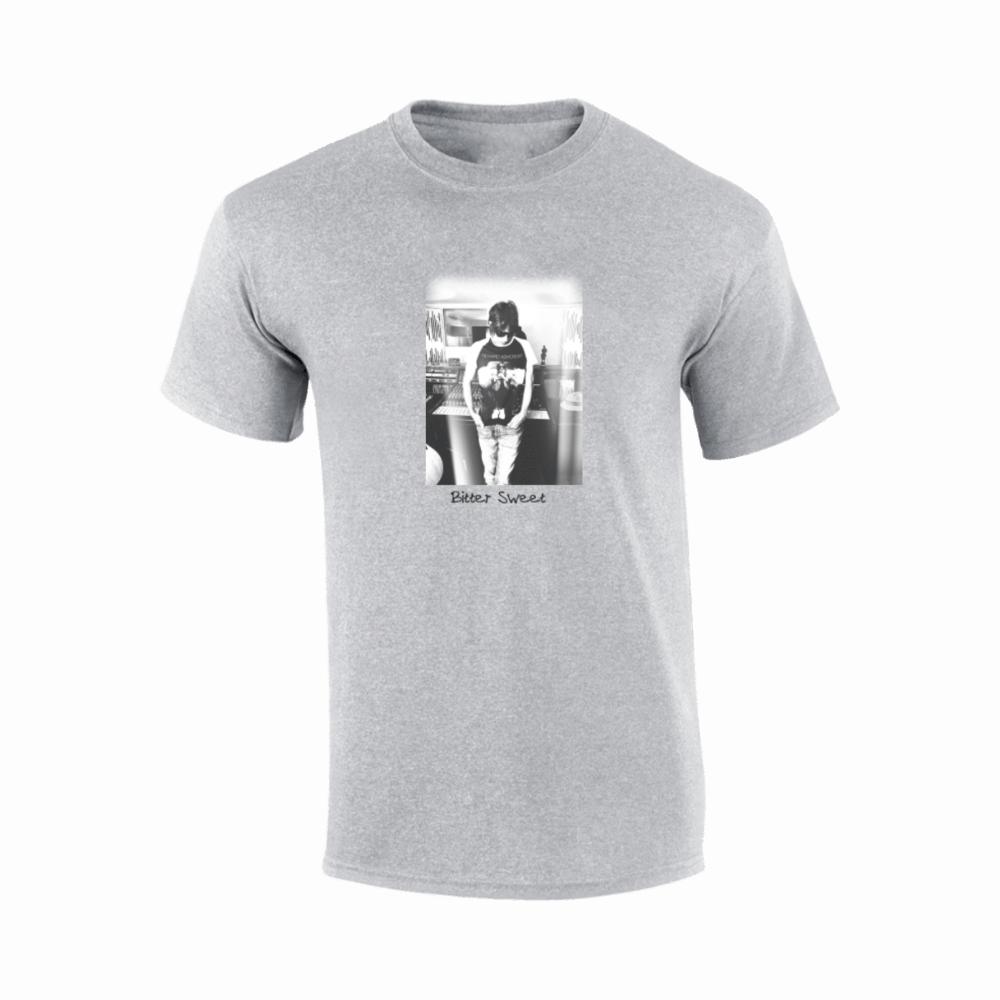 Buy Online Richard Ashcroft - Bitter Sweet Photo Grey T-Shirt