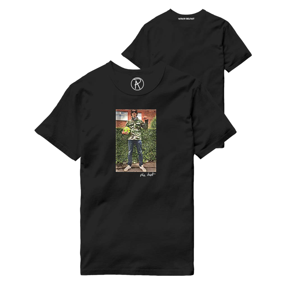 Buy Online Richard Ashcroft - The Best Black T-Shirt