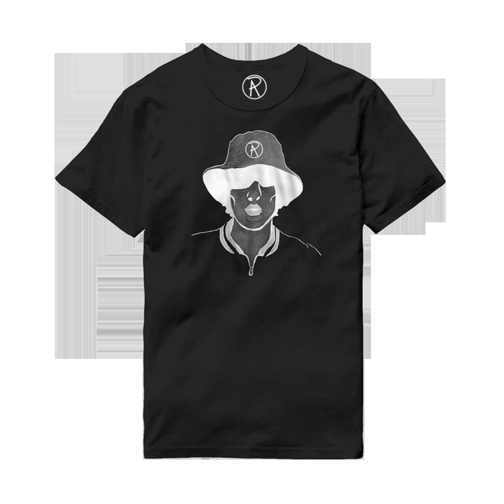 Buy Online Richard Ashcroft - Illustration Black T-Shirt