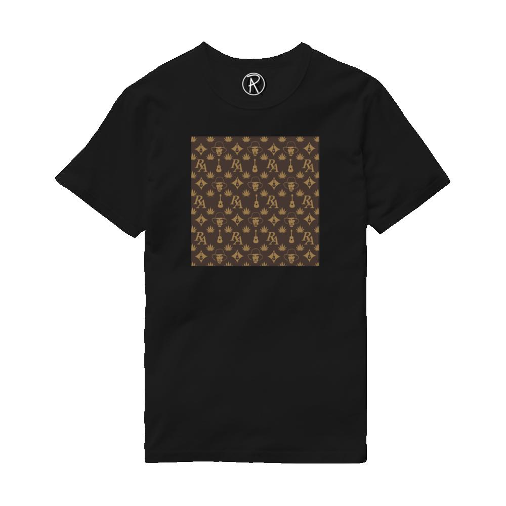 Buy Online Richard Ashcroft - RA Print Black T-Shirt