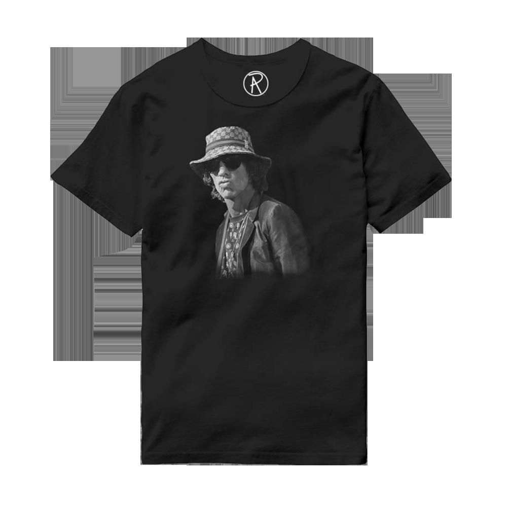 Buy Online Richard Ashcroft - Bucket Hat Black T-Shirt