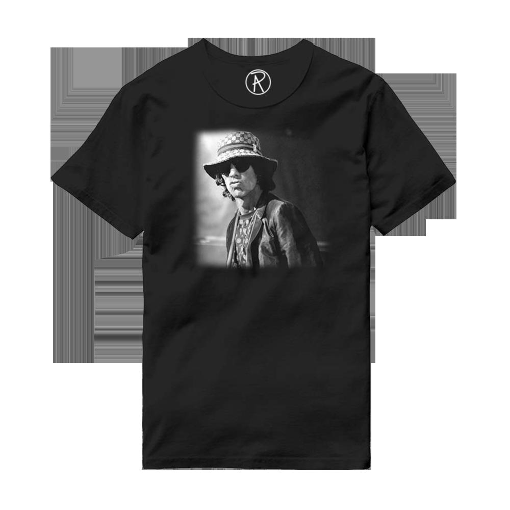 Buy Online Richard Ashcroft - Bucket Hat Photo Black T-Shirt