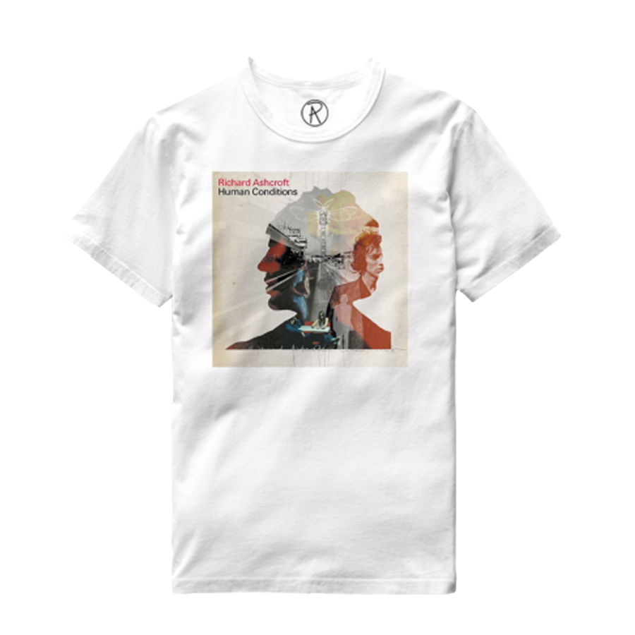 Buy Online Richard Ashcroft - Human Conditions White Album T-Shirt