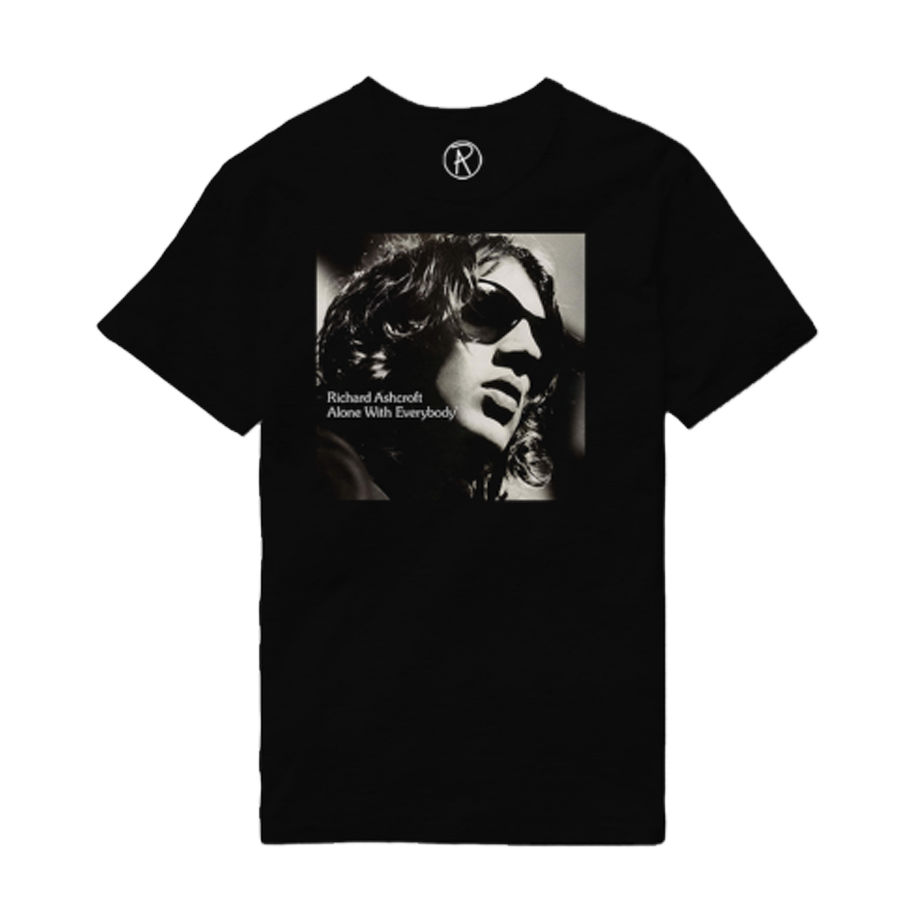 Buy Online Richard Ashcroft - Alone With Everybody Black Album T-Shirt