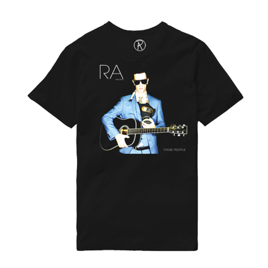 Buy Online Richard Ashcroft - These People Black Album T-Shirt
