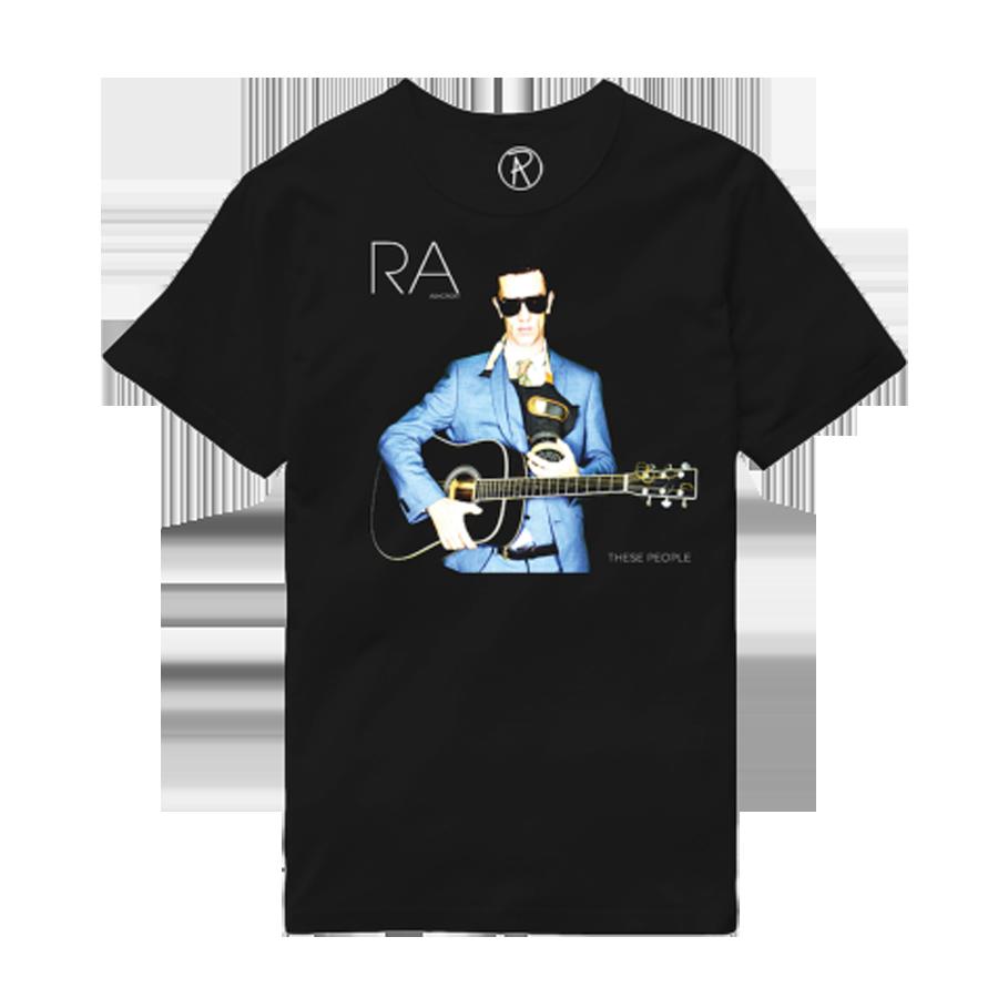 These People Black Album T-Shirt