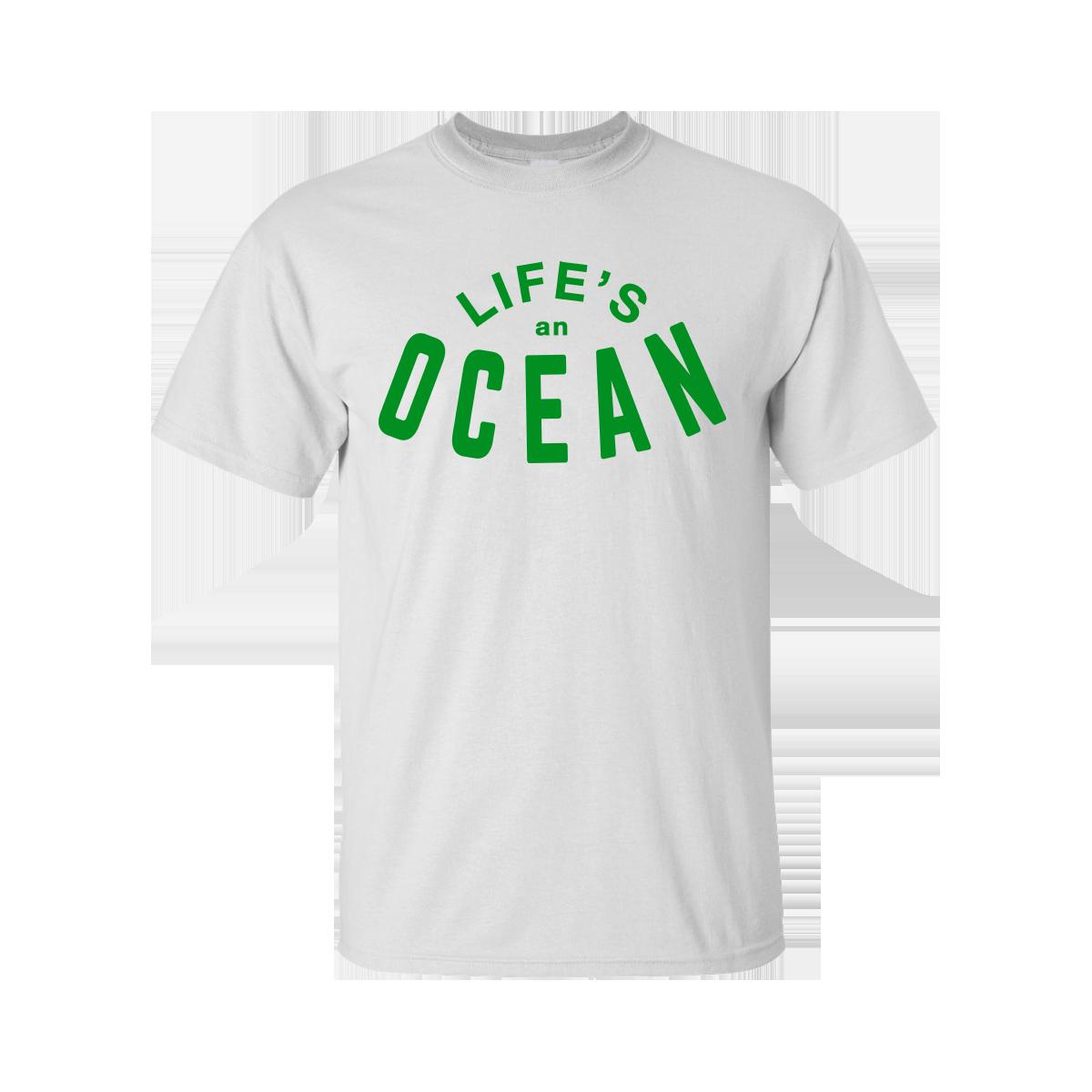 Buy Online Richard Ashcroft - Ocean White T-Shirt