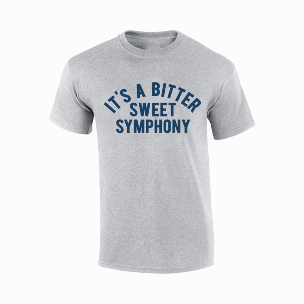 Buy Online Richard Ashcroft - Sweet Symphony Grey T-Shirt