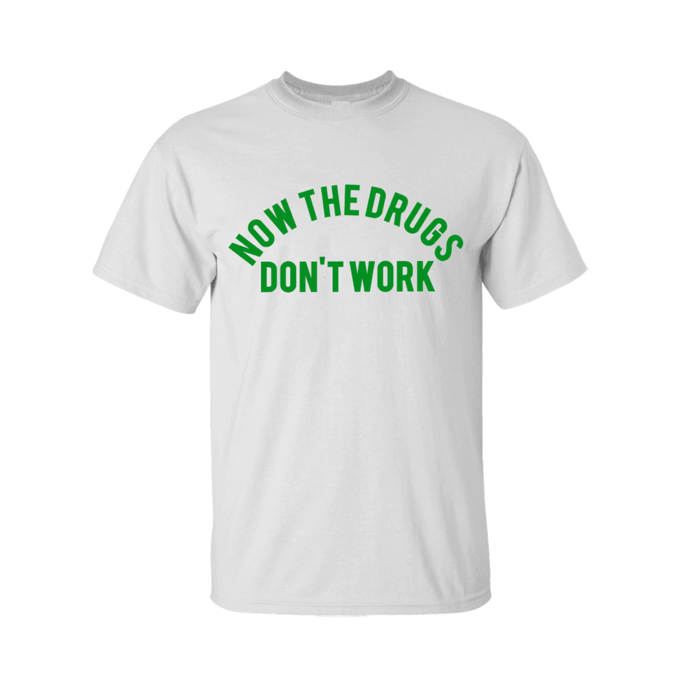 Buy Online Richard Ashcroft - Now The Drugs Don't Work White T-Shirt