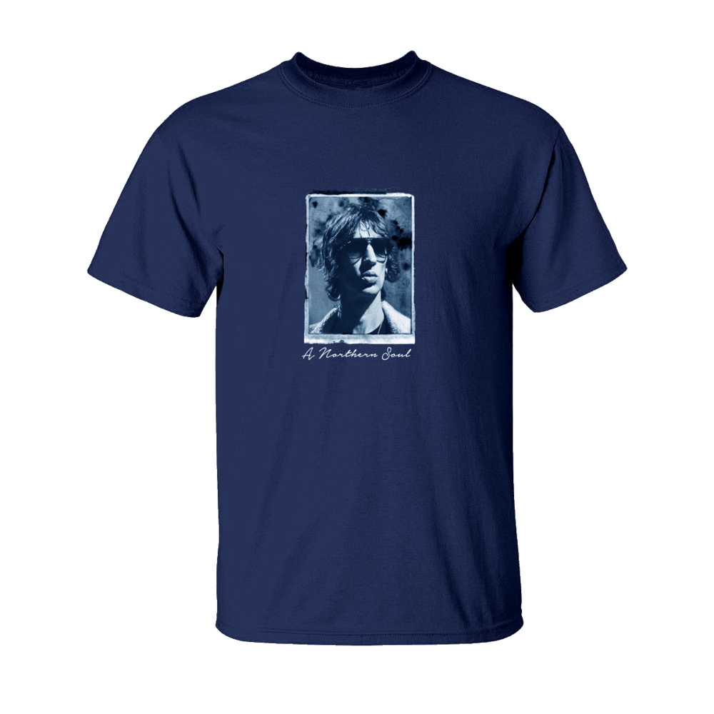 Buy Online Richard Ashcroft - Northern Soul Navy Blue T-Shirt