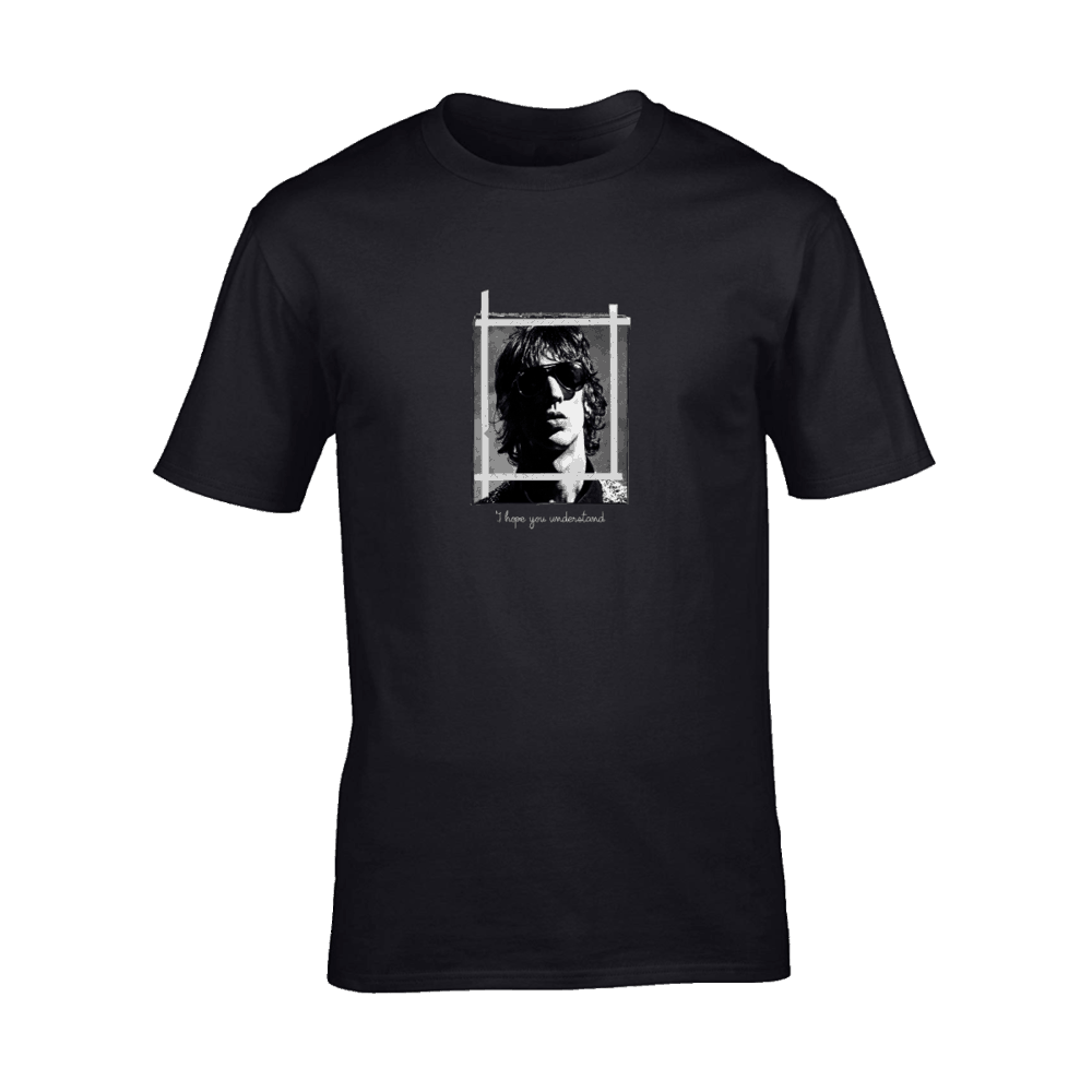Buy Online Richard Ashcroft - I Hope You Understand Black T-Shirt