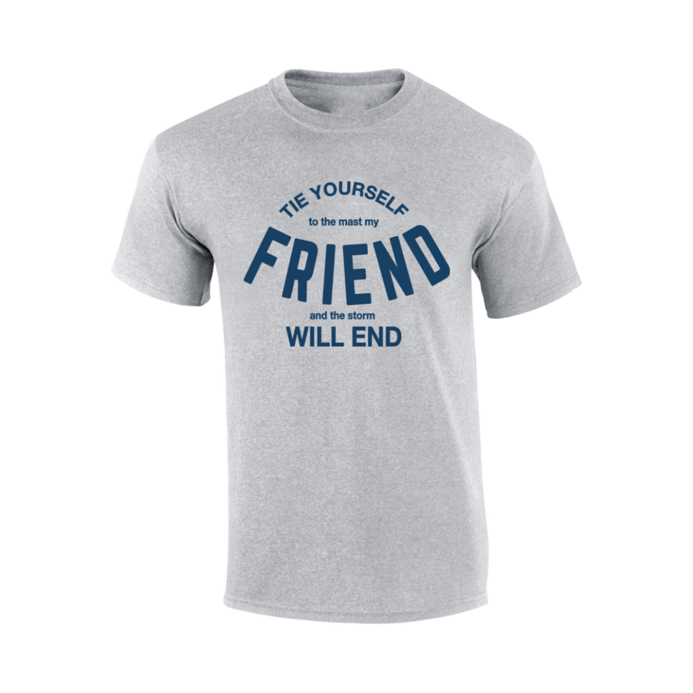Buy Online Richard Ashcroft - Friend Grey T-Shirt