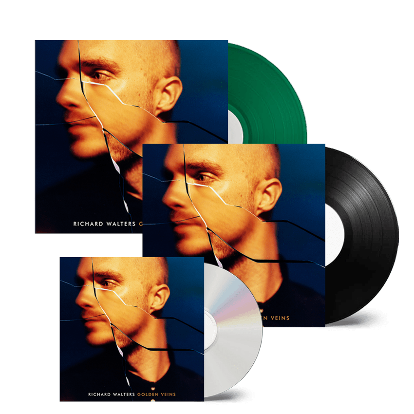 Buy Online Richard Walters - Golden Veins CD + Green Transparent Vinyl + Vinyl