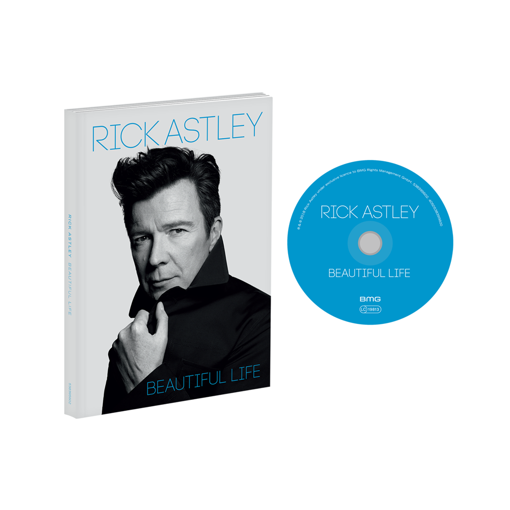 Buy Online Rick Astley - Beautiful Life CD Album (Deluxe Edition) (Signed)
