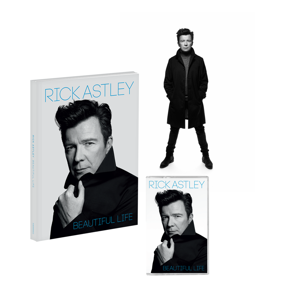 Buy Online Rick Astley - Beautiful Life Deluxe CD (Signed) + Cassette + Signed Rankin Photo Print