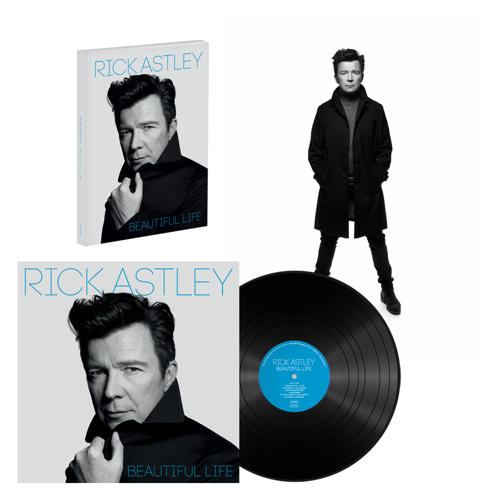 Buy Online Rick Astley - Beautiful Life Deluxe CD (Signed) + Vinyl LP + Signed Rankin Photo Print