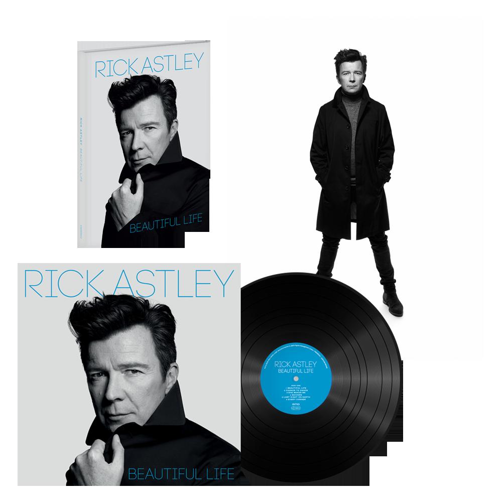 Buy Online Rick Astley - Beautiful Life Deluxe CD + Vinyl LP + Signed Rankin Photo Print