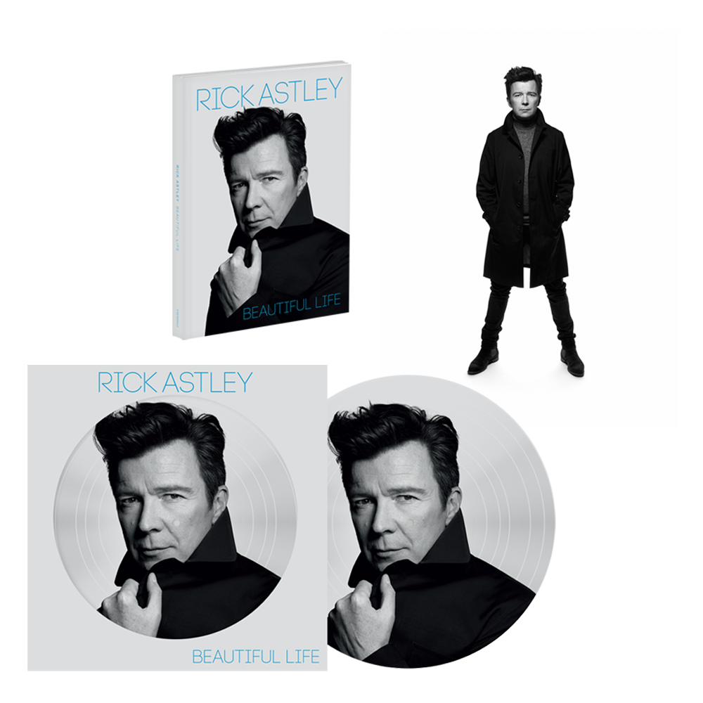 Buy Online Rick Astley - Beautiful Life Deluxe CD (Signed) + Picture Disc + Signed Rankin Photo Print