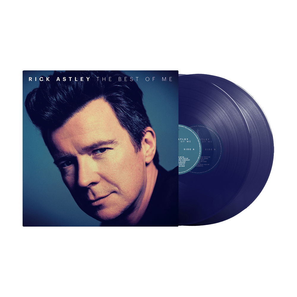 Buy Online Rick Astley - The Best Of Me Limited Edition Clear Blue Double