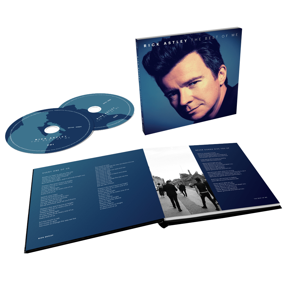 Buy Online Rick Astley - The Best Of Me Deluxe CD Album