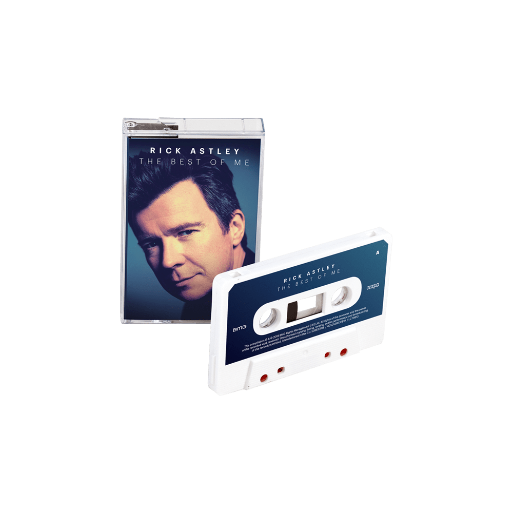 Buy Online Rick Astley - The Best Of Me White Cassette (Exclusive)