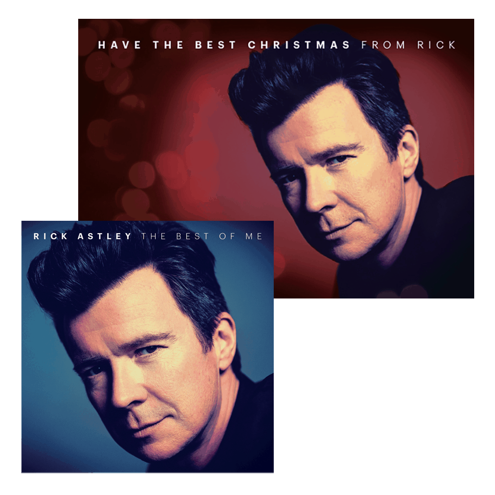 Buy Online Rick Astley - The Best Of Me Digital Album + Exclusive Limited Christmas Card Signed by Rick (Free UK Postage)