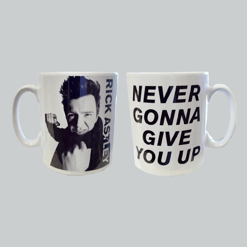Buy Online Rick Astley - Never Gonna Give You Up Mug