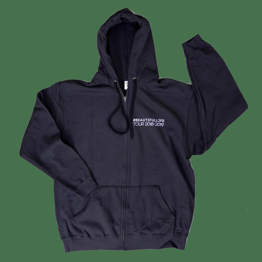 Buy Online Rick Astley - 2018-2019 Beautiful Life Tour Zip Hood