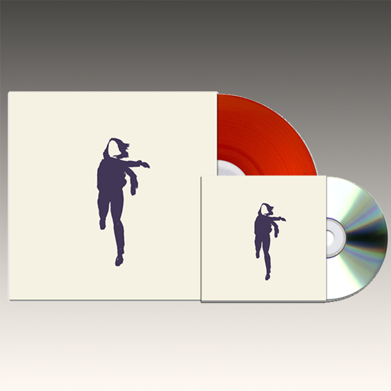 Translucent Red Vinyl & CD bundle