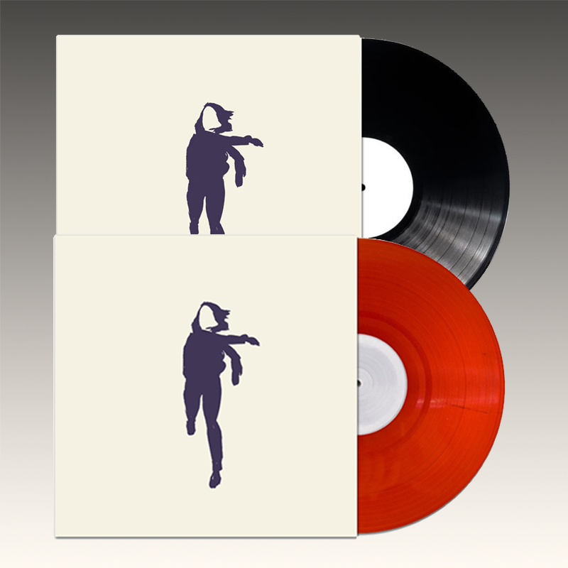 Translucent Red Vinyl & Black Vinyl