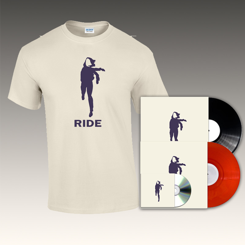 Translucent Red Vinyl, Black Vinyl, CD & T-Shirt Bundle