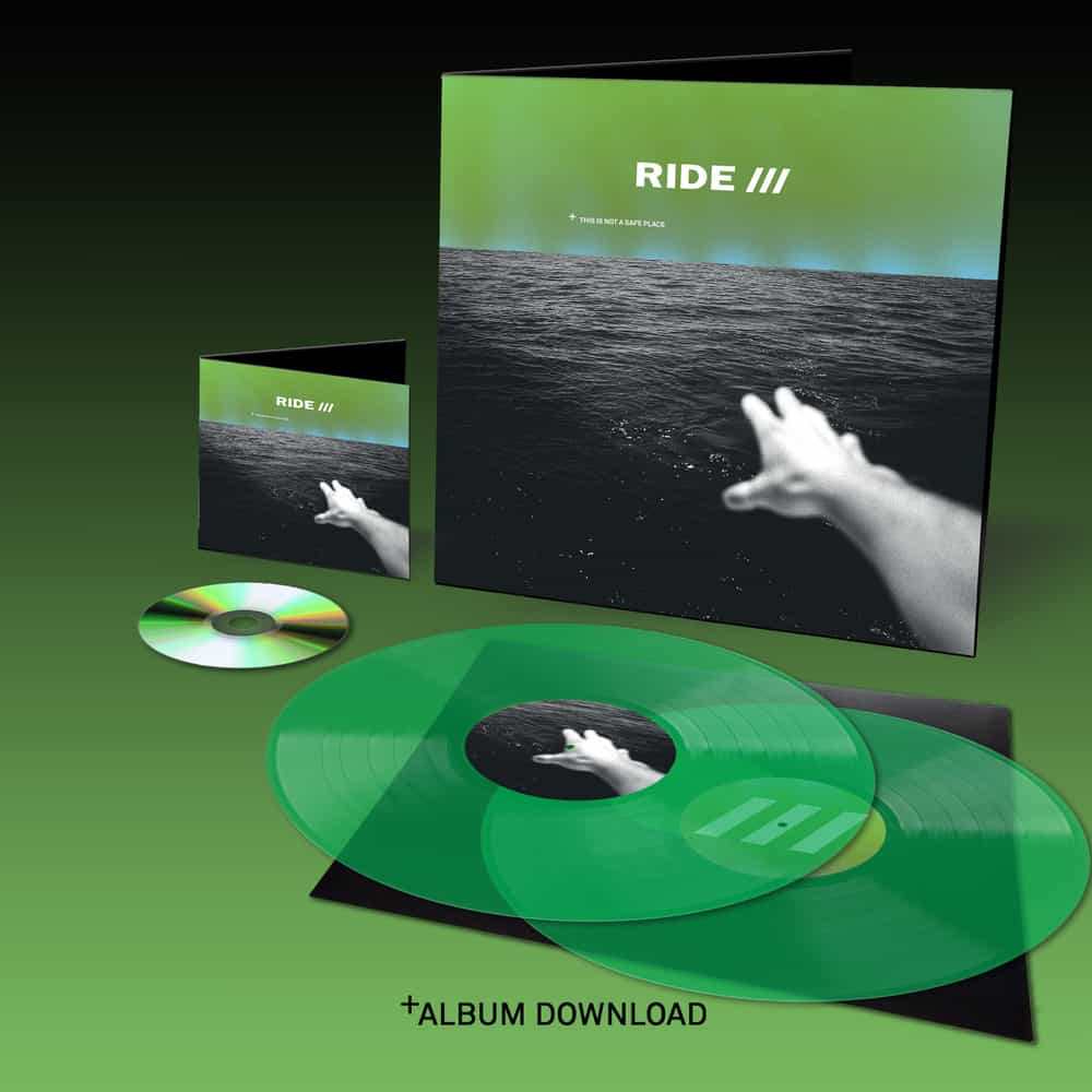 Buy Online Ride - This Is Not A Safe Place Limited Vinyl + CD