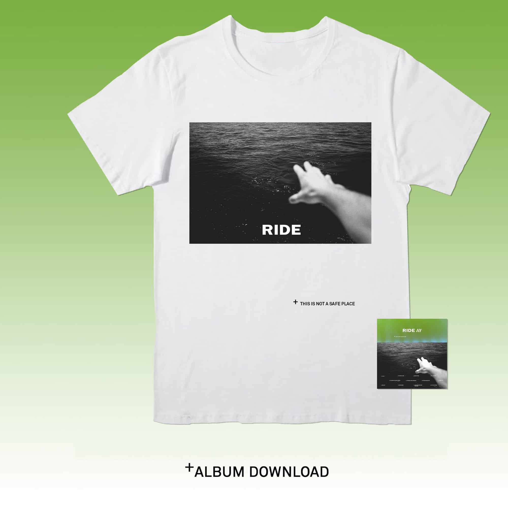 Buy Online Ride - This Is Not A Safe Place T-Shirt + Download