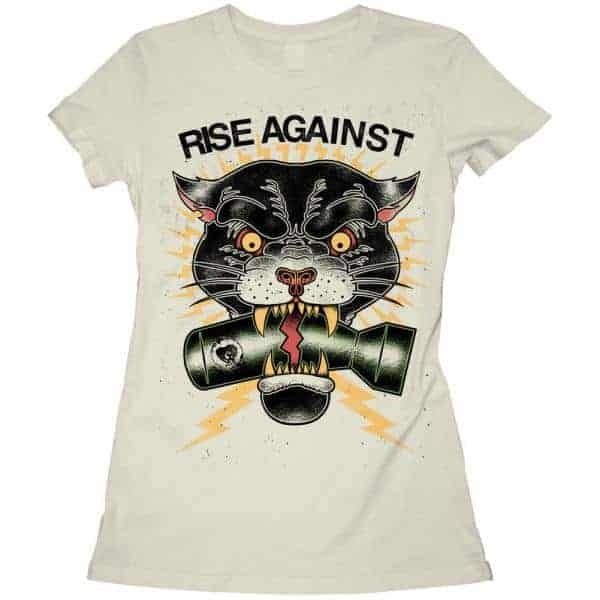 Buy Online Rise Against - Panther Girls T- Shirt