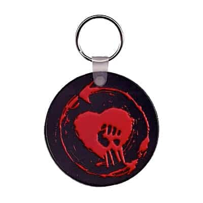 Buy Online Rise Against - Rubber Heart Keychain
