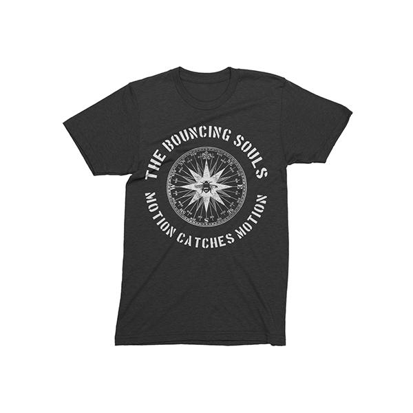 Buy Online Bouncing Souls - Compass Grey T-Shirt