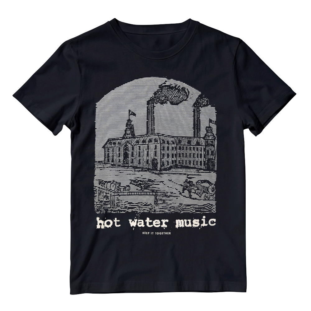 Buy Online Hot Water Music  - Keep It Together Black T-Shirt