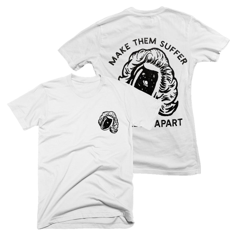Buy Online Make Them Suffer - Worlds Apart White T-Shirt