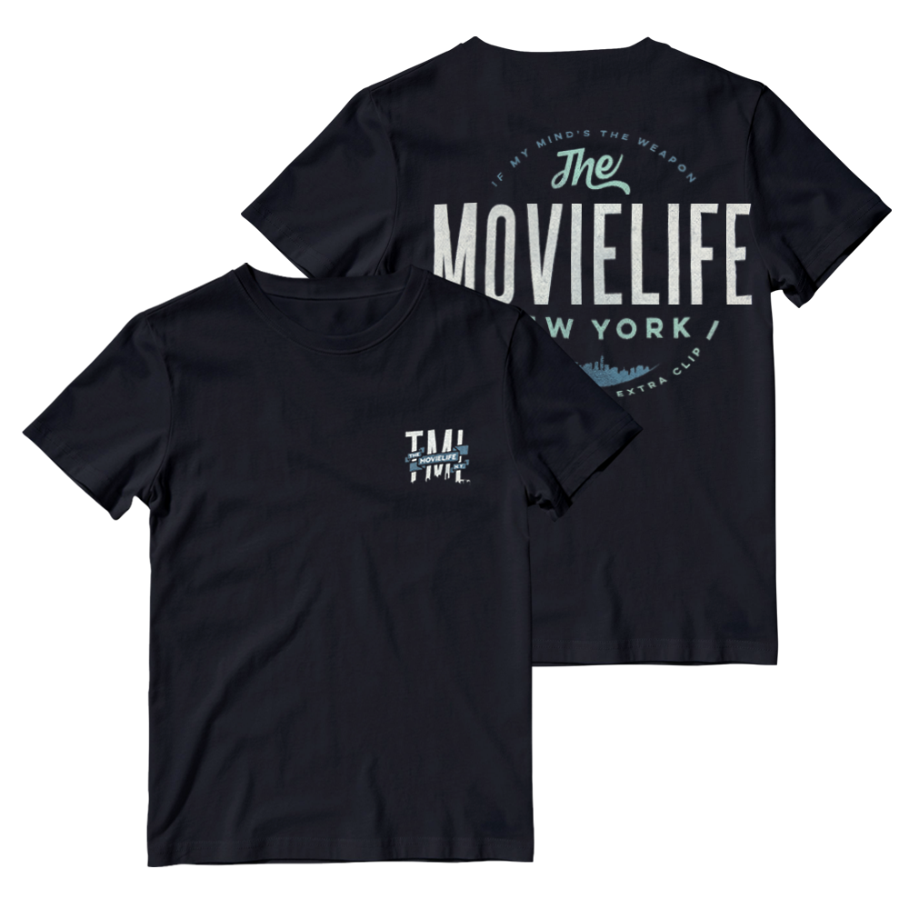 Buy Online The Movielife - New York If My Minds The Weapon T-Shirt