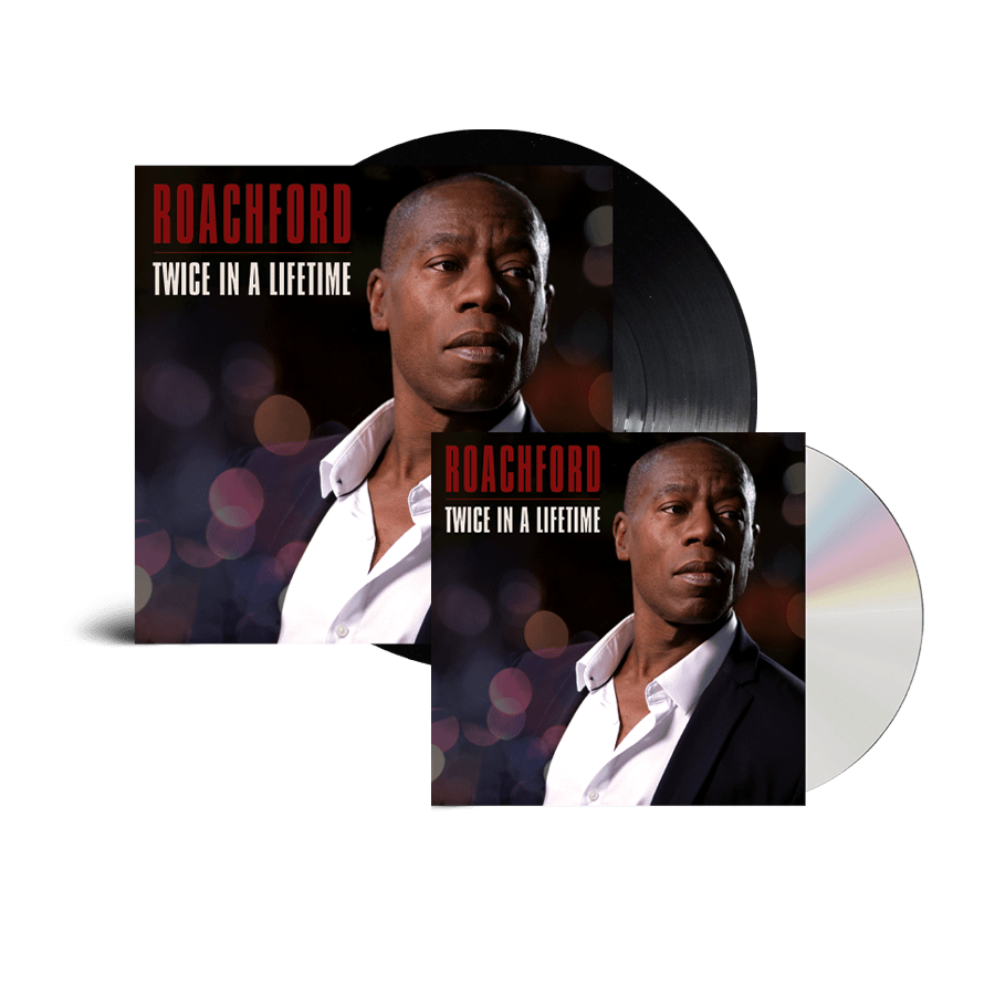 Buy Online Roachford - Twice In A Lifetime CD Album (Signed) + Heavyweight Vinyl (Signed)
