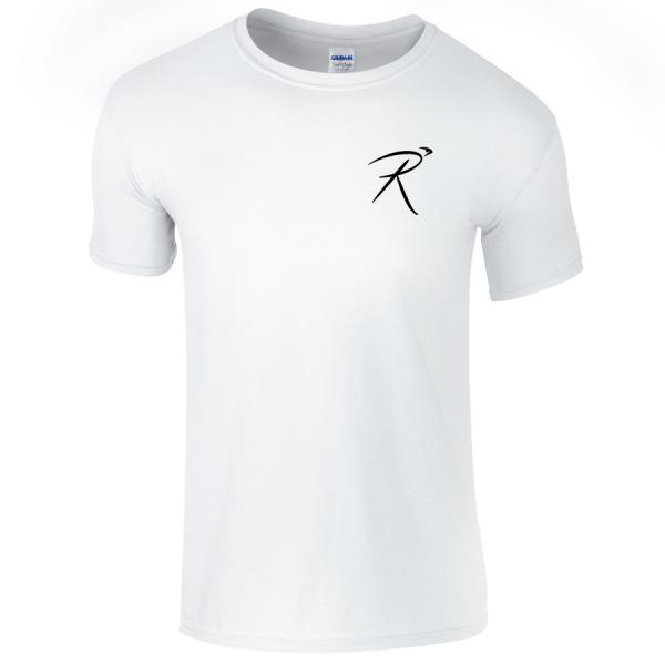 Unisex White Logo T-Shirt