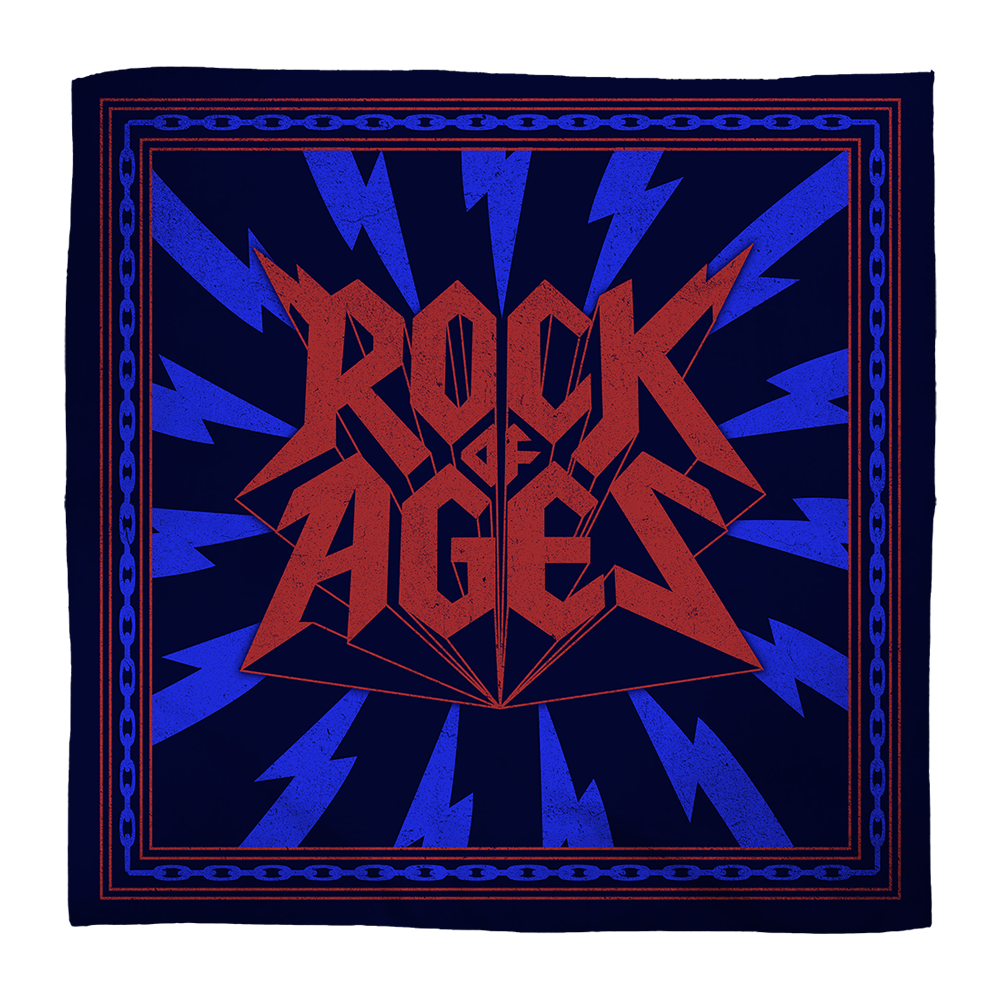 Buy Online Rock Of Ages - Logo Bandana